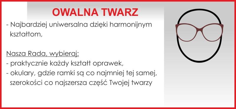 Owalna Twarz Okulary Biga
