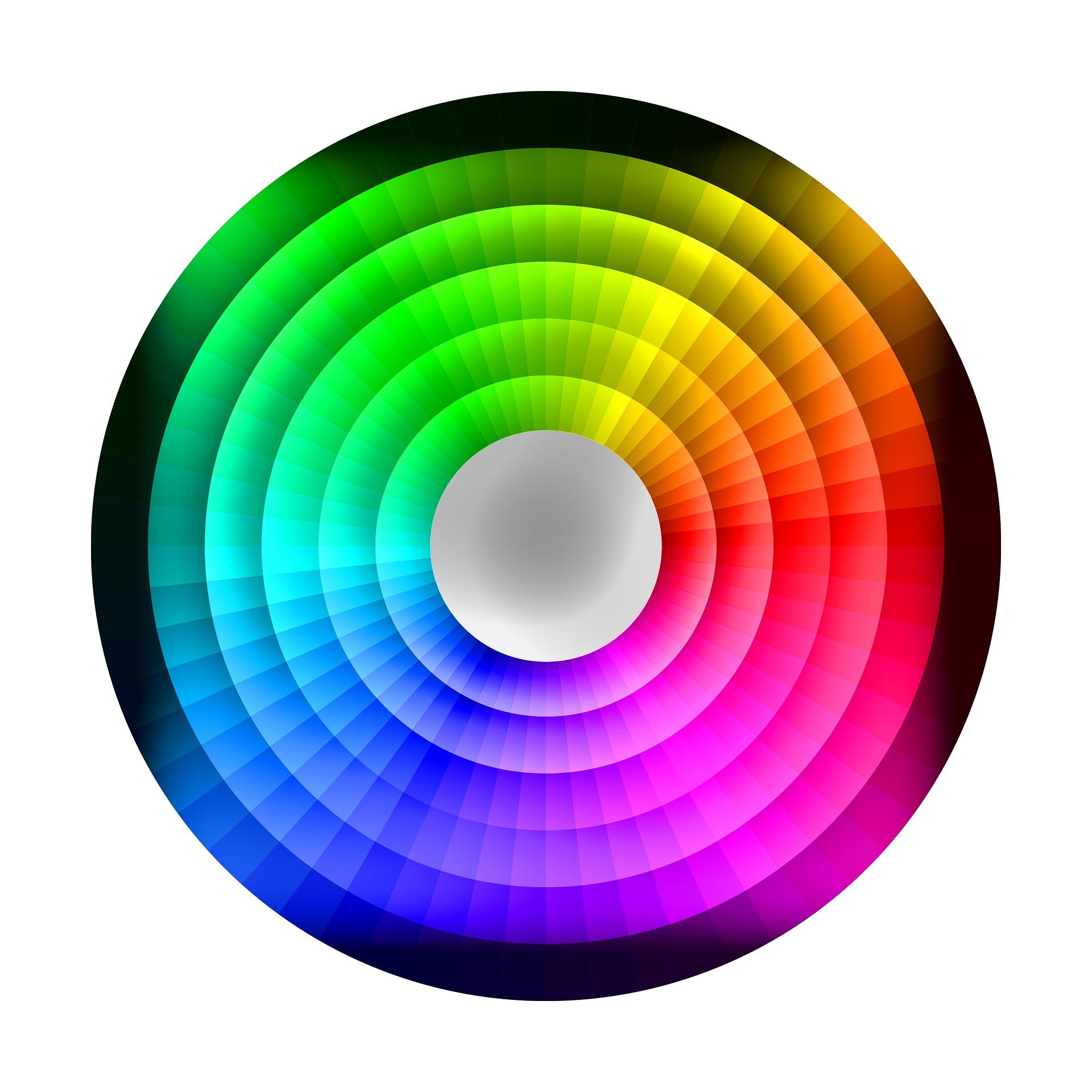koło barw kolory