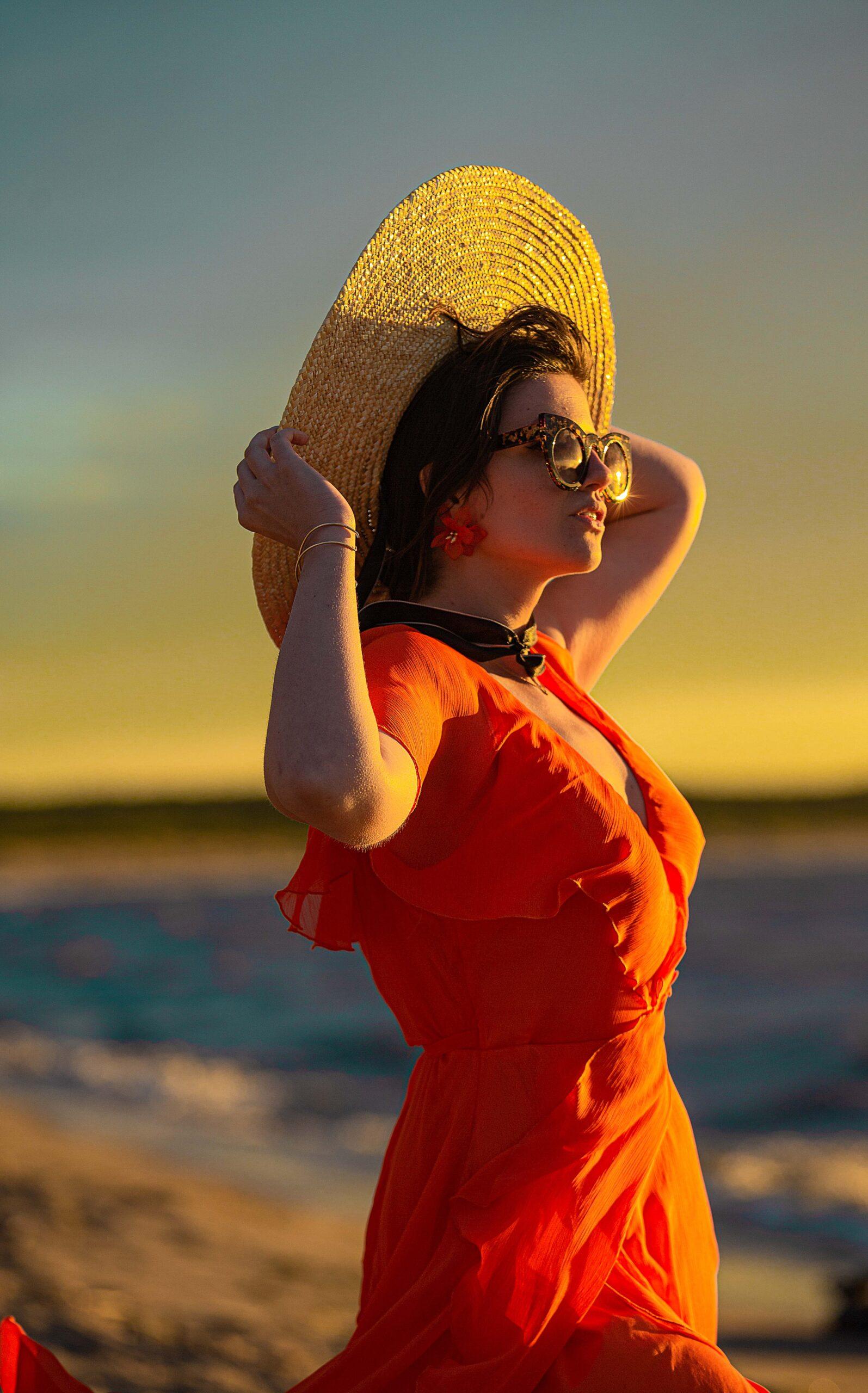 lato kapelusz słońce akcesoria