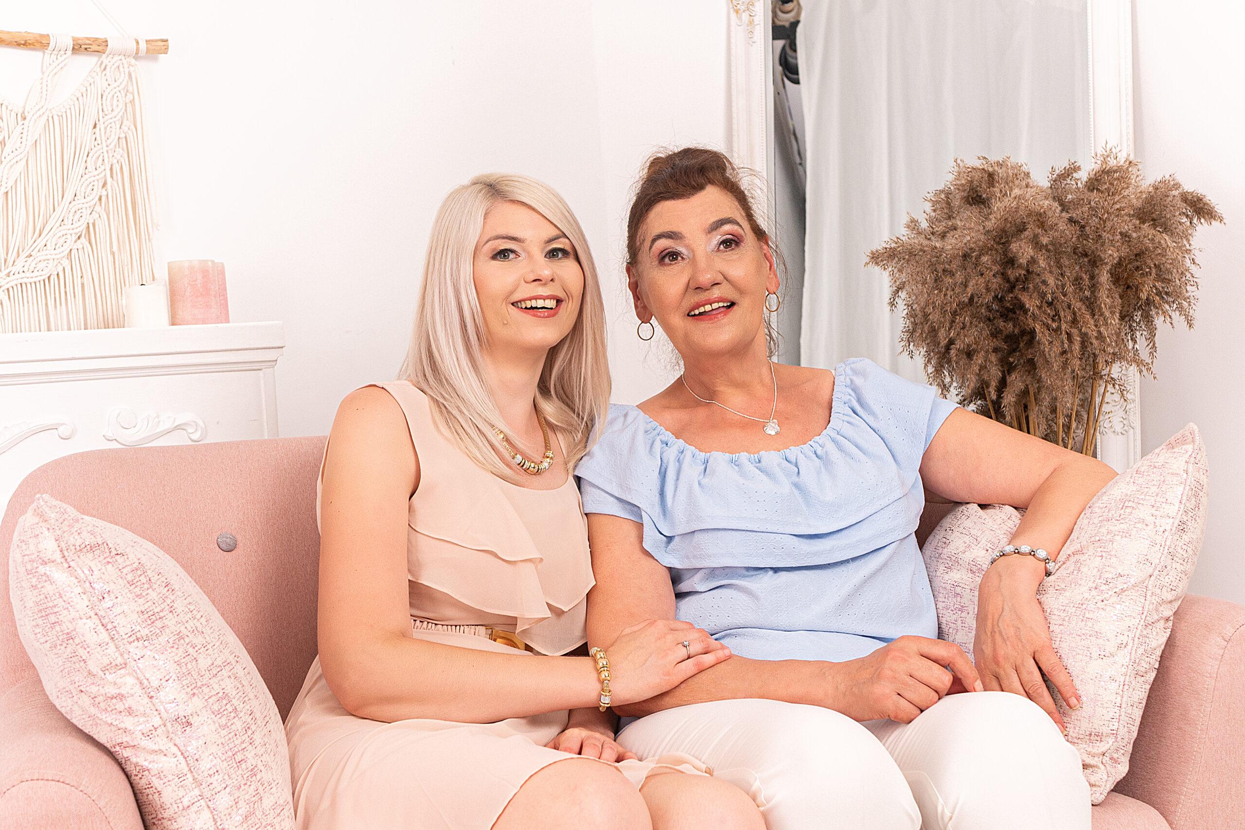 Córka i Matka sesja zdjęciowa